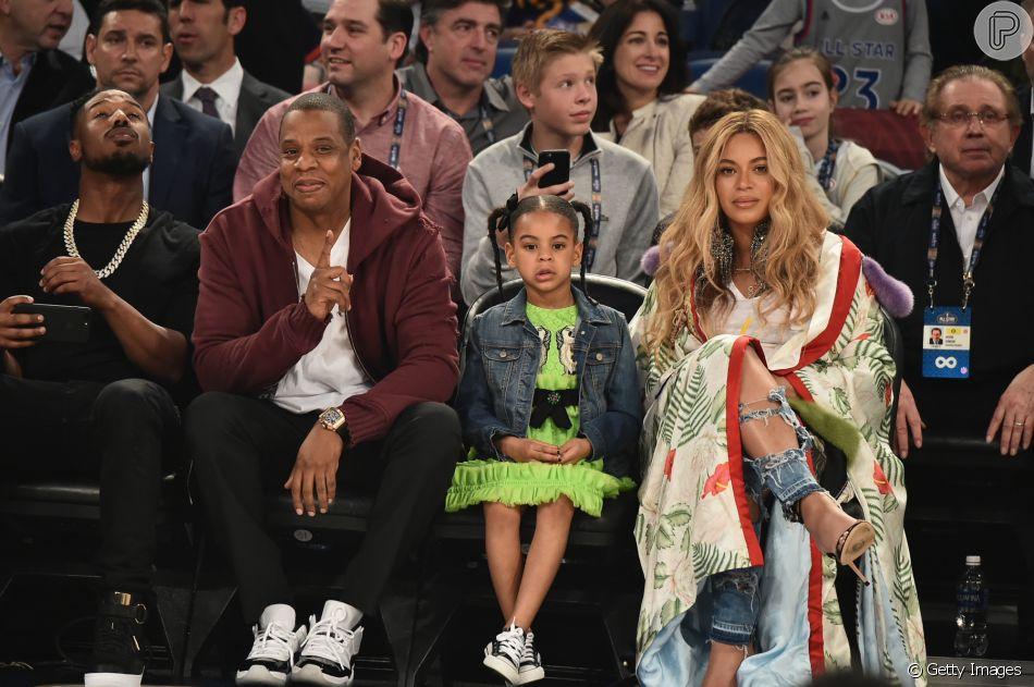 Beyoncé compara foto dela na infância e de Blue Ivy e agita web nesta sexta-feira, dia 25 de janeiro de 2019