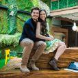 Marocas (Juliana Paiva) e Samuel (Nicolas Prattes) terminaram a novela à espera do primeiro filho