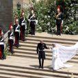 O vestido de noiva de Meghan Markle foi a primeira peça da Givenchy que ela usou ao entrar para a realeza