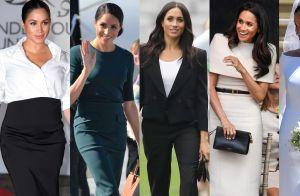 Givenchy girl! 12 looks que provam a paixão de Meghan Markle pela marca. Confira