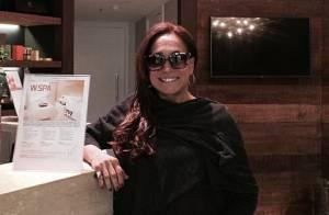 Susana Vieira muda o visual e surge com uma nova cor de cabelo: 'Chocolate'