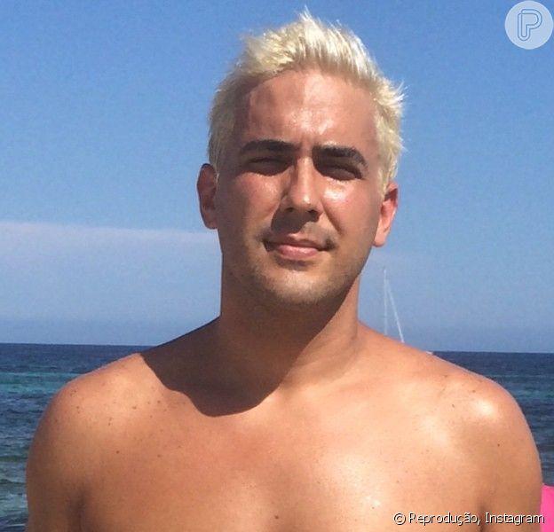 André Marques chega aos 35 anos nesta quarta-feira, 24 de setembro de 2014, com o visual totalmente repaginado
