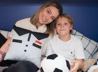 Longe do filho, Carol Dantas recebe vídeo fofo de Davi Lucca: 'Saiba que te amo'