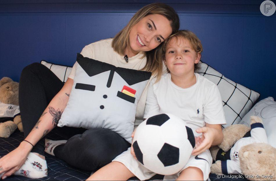 Carol Dantas é mãe de Davi Lucca, de 7 anos, fruto da relação com Neymar