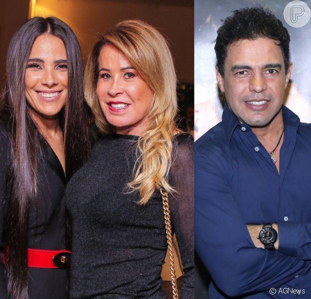 Wanessa Camargo defende Zezé após Zilu acusá-lo de coação em partilha em programa de TV nesta sexta-feira, dia 08 de fevereiro de 2019