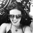 Isis passou o Réveillon no Caribe e postou uma foto em seu Instagram