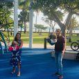 Thais Fersoza e a família estão de férias em Orlando, nos Estados Unidos
