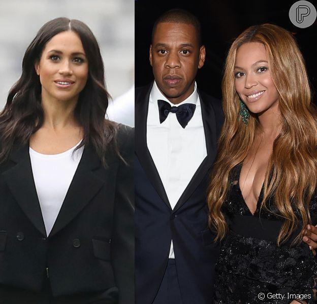 Meghan Markle rainha? Beyoncé e Jay-z colocam duquesa como monarca em vídeo