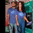 Yanna Lavigne e Bruno Gissoni curtem Carnaval com pochete, acessório indispensável pelos famosos