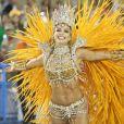 Grazi Massafera já foi rainha de bateria na vida real pela Acaadêmicos do Grande Rio