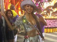Gleici Damasceno deixa barriga à mostra em desfile: 'Não fiz nenhuma preparação'