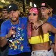 Anitta negou ter ficado com Neymar na Sapucaí