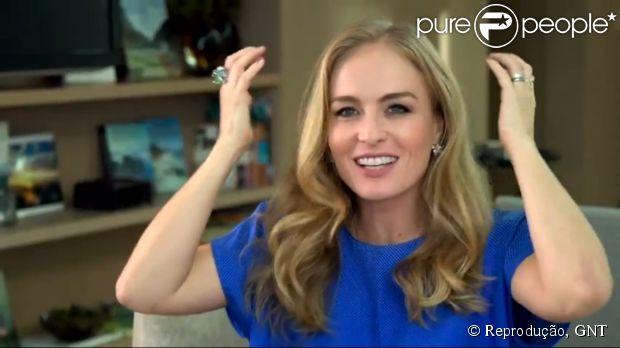 Angélica brinca ao falar sobre pelos corporais no 'Superbonita': 'Sou toda loirinha'