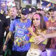 Anitta trocou beijo com Neymar em camarote no Rio de Janeiro