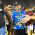 Neymar curtiu Carnaval do Rio de Janeiro no mesmo camarote que Bruna Marquezine
