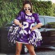 Sarina Sato homenageou a filha com uma roupa durante um ensaio de Carnaval