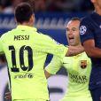 Messi também marcou e diminuiu o placar para o Barcelona