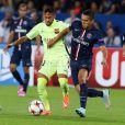 Neymar também marcou pelo Barcelono no jogo contra o Paris Saint-Germain