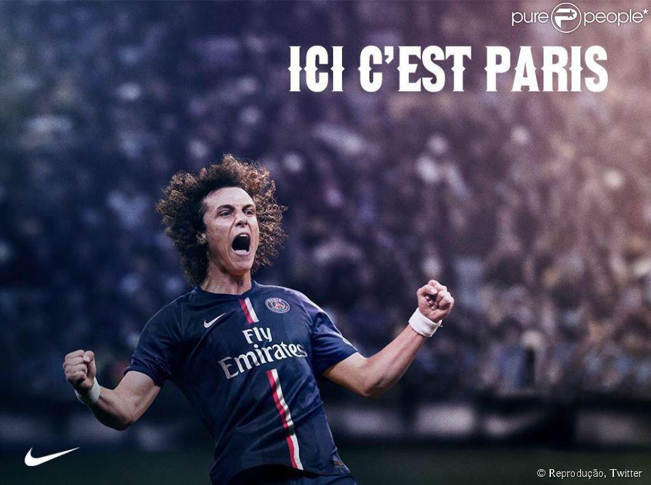 David Luiz marca e garante vitória do Paris Saint-Germain sobre o Barcelona de Neymar e Messi, nesta terça-feira, 30 de setembro de 2014