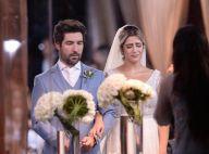 Casamento de Jéssica Costa e Sandro Pedroso é marcado por emoção. Confira fotos!