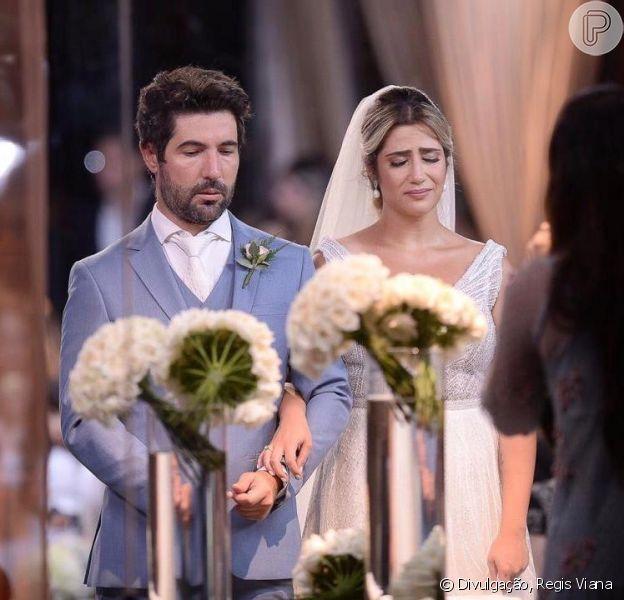 Casamento de Jéssica Costa e Sandro Pedroso é marcado por emoção. Confira fotos em matéria nesta terça-feira, dia 12 de março de 2019