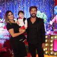 Jéssica e Sandro Pedroso são pais de Noah, de 3 anos