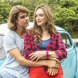 Separados, Manu (Isabelle Drummond) e João (Rafael Vitti) se beijam novamente nos próximos capítulos da novela 'Verão 90'