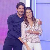 Surpresa de Pato a Rebeca Abravanel no SBT conquista web: 'Muito fofos'