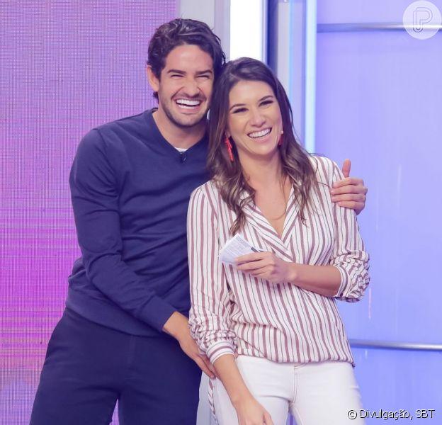 Surpresa de Pato a Rebeca Abravanel no SBT conquista web nesta sexta-feira, dia 19 de março de 2019