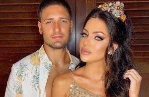 Daniel Rocha e Laise Leal iniciam celebração de casamento com festa na Bahia