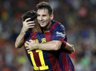 Messi elogia futebol do amigo do Barcelona: 'Neymar que será o melhor do mundo'