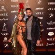 Latino e a noiva Jéssica Rodrigues no Baile da Vogue 2019