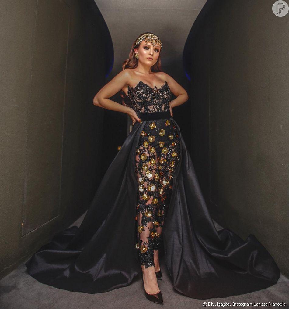 Larissa Manoela vestiu Lethicia Bronstein em seu primeiro Baile da Vogue
