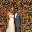 Barbara Fialho se casou com o empresário Rohan Marley em Minas Gerais