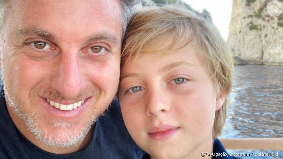 Luciano Huck é casado com a apresentadora Angélica, com quem tem 3 filhos
