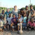 Luciano Huck curtiu viagem de férias com a família pela África em janeiro de 2019