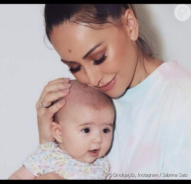 Sabrina Sato citou mudanças após chegada da filha, Zoe