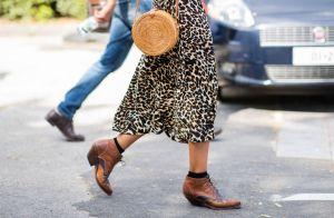 Saia midi e botas no outono/inverno: inspire-se nesses 8 looks e aprenda a usar!