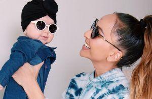 Sabrina Sato combina macacão all jeans com a filha, Zoe: 'Adoro copiar ela'