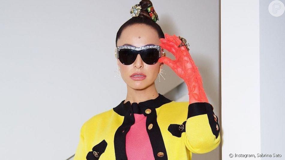 Confira todos os detalhes do look de Sabrina Sato que tem pelo menos 4 trends da estação