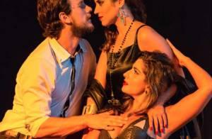 Camilla Camargo vive triângulo amoroso no teatro: 'Não me imagino na situação'