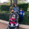 Patricia Abravanel já é mãe de Pedro, de 4 anos, e Jane, de 1