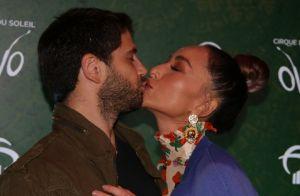 Vale-night! Sabrina Sato e Duda Nagle se beijam em espetáculo com mais famosos