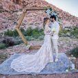 Pôr do sol em LA! Veja fotos do casamento do ex-BBB Lucas Fernandes e Ana Lúcia Vilela