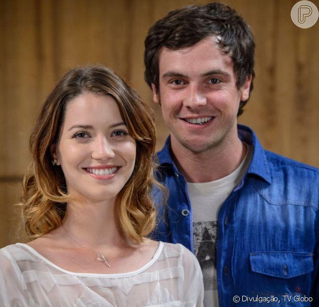 Nathalia Dill vai dividir cena com o ex-namorado, Sergio Guizé, na novela 'A Dona do Pedaço'