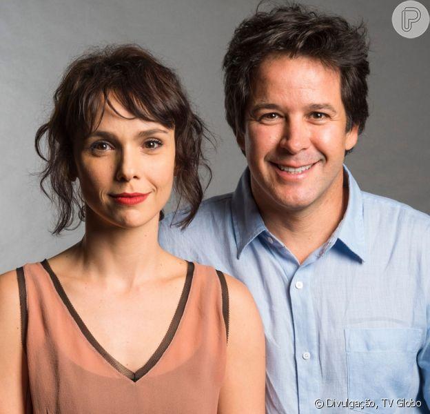 Débora Falabella e Murilo Benício se separam após 7 anos de anos de casamento
