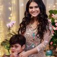 Mileide Mihaile é mãe de Yhudy, de 8 anos, fruto do seu casamento com Wesley Safadão