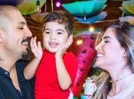 Fernando Medeiros destaca sintonia com filho, Lucca, de 3 anos: 'Muito apegado'