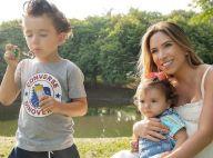 Filhos de Patricia Abravanel, Pedro e Jane roubam a cena em ensaio com a mãe