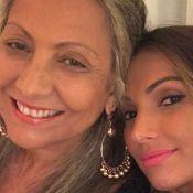 Iguais! Patricia Poeta impressiona em foto com Fátima Poeta: 'Cara da mãe'. Veja